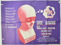 THE BRAIN Cinema Quad Movie Poster