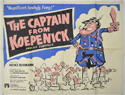 THE CAPTAIN FROM KOEPENICK Cinema Quad Movie Poster