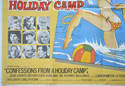 CONFESSIONS FROM A HOLIDAY CAMP (Bottom Left) Cinema Quad Movie Poster
