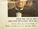 CRIMES AND MISDEMEANORS (Bottom Left) Cinema Quad Movie Poster