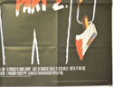 FRIDAY THE 13TH PART 2 (Bottom Right) Cinema Quad Movie Poster