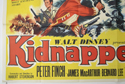 KIDNAPPED (Bottom Left) Cinema Quad Movie Poster