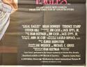 LEGAL EAGLES (Bottom Right) Cinema Quad Movie Poster
