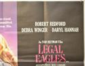 LEGAL EAGLES (Top Right) Cinema Quad Movie Poster