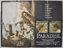 PARADISE Cinema Quad Movie Poster