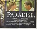 PARADISE (Bottom Right) Cinema Quad Movie Poster