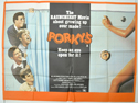 PORKY'S Cinema Quad Movie Poster