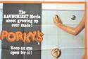 PORKY'S (Top Right) Cinema Quad Movie Poster