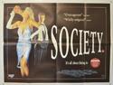 SOCIETY Cinema Quad Movie Poster