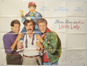 THREE MEN AND A LITTLE LADY Cinema Quad Movie Poster