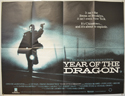 YEAR OF THE DRAGON Cinema Quad Movie Poster