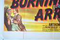 BURNING ARROWS (Bottom Left) Cinema Quad Movie Poster