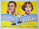THE GAZEBO Cinema Quad Movie Poster
