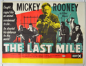 THE LAST MILE Cinema Quad Movie Poster