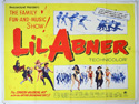 LI'L ABNER Cinema Quad Movie Poster
