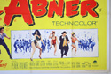 LI'L ABNER (Bottom Right) Cinema Quad Movie Poster