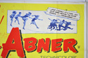 LI'L ABNER (Top Right) Cinema Quad Movie Poster