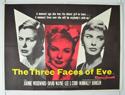 THE THREE FACES OF EVE Cinema Quad Movie Poster
