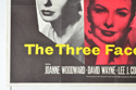 THE THREE FACES OF EVE (Bottom Left) Cinema Quad Movie Poster