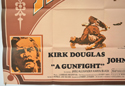 A GUNFIGHT (Bottom Left) Cinema Quad Movie Poster