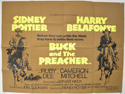 BUCK AND THE PREACHER Cinema Quad Movie Poster