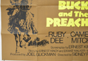 BUCK AND THE PREACHER (Bottom Left) Cinema Quad Movie Poster