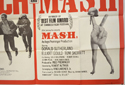 BUTCH CASSIDY AND THE SUNDANCE KID / M.A.S.H. (Bottom Right) Cinema Quad Movie Poster