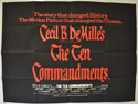 Ten Commandments (The) <p><i> (1966 Plain Text re-release Poster) </i></p>