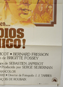 ADIOS AMIGO (Bottom Right) Cinema Spanish Movie Poster