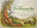 THE BELSTONE FOX Cinema Quad Movie Poster