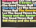 LET THE GOOD TIMES ROLL (Bottom Left) Cinema Quad Movie Poster