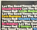 LET THE GOOD TIMES ROLL (Top Left) Cinema Quad Movie Poster