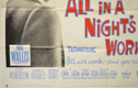 ALL IN A NIGHT'S WORK (Bottom Left) Cinema Quad Movie Poster