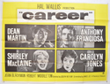 CAREER Cinema Quad Movie Poster
