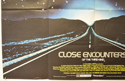 CLOSE ENCOUNTERS OF THE THIRD KIND (Bottom Left) Cinema Quad Movie Poster