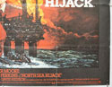 NORTH SEA HIJACK (Bottom Right) Cinema Quad Movie Poster