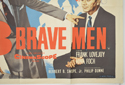 3 BRAVE MEN (Bottom Right) Cinema Quad Movie Poster
