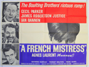 A FRENCH MISTRESS Cinema Quad Movie Poster