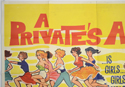 A PRIVATE'S AFFAIR (Top Left) Cinema Quad Movie Poster