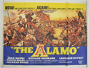 THE ALAMO Cinema Quad Movie Poster