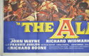 THE ALAMO (Bottom Left) Cinema Quad Movie Poster