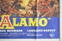THE ALAMO (Bottom Right) Cinema Quad Movie Poster