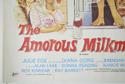 THE AMOROUS MILKMAN (Bottom Left) Cinema Quad Movie Poster