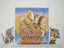 BLAZING SADDLES Cinema Quad Movie Poster