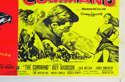 THE CRIMSON PIRATE / THE COMMAND (Bottom Right) Cinema Quad Movie Poster