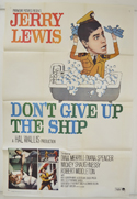 DON'T GIVE UP THE SHIP Cinema One Sheet Movie Poster