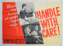 HANDLE WITH CARE Cinema Quad Movie Poster