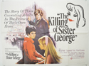 THE KILLING OF SISTER GEORGE Cinema Quad Movie Poster