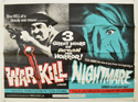 Warkill / Nightmare <p><i> (Double Bill) </i></p>
