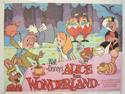 ALICE IN WONDERLAND Cinema Quad Movie Poster